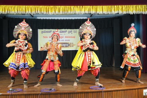 Yakshagana during 5th Annual Day